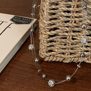 Jewelry - Silver multi-wire strand necklace